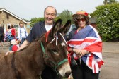 Graham & Kathy Kark at the Royal Wedding Fun Day in Pymoor 2011.