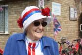 Joan Saberton at the Royal Wedding Fun Day in Pymoor.