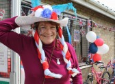 Jeanette Moser at the Royal Wedding Fun Day in Pymoor 2011.