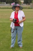 Cynthia Parson at the Royal Wedding Fun Day in Pymoor 2011.