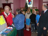 Pymoor & Coveney Methodist Chapels's Christmas Bazaar 2011, held in the Chapel in Main Street, Pymoor.