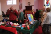 Pymoor & Coveney Methodist Chapels' Christmas Bazaar 2011, held in the Chapel in Main Street, Pymoor.