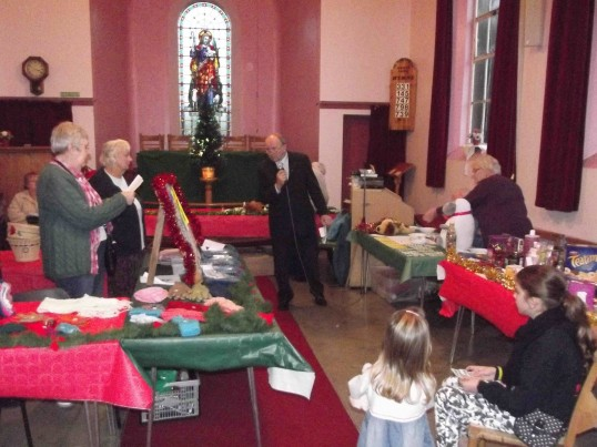 Pymoor & Coveney Methodist Chapels' Christmas Bazaar, held in the Chapel in Main Street, Pymoor, 2011.