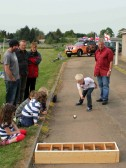 'Bowling'  at the Royal Wedding Fun Day in Pymoor 2011.