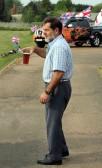 John Pinnells, at the Royal Wedding Fun Day 2011 in Pymoor.