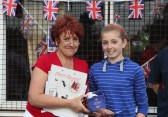 Prizegiving at the Royal Wedding Fun Day in Pymoor, 2011.