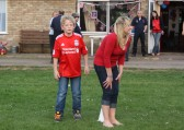 Rounders at the Royal Wedding Fun Day in Pymoor.