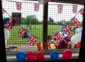 The Royal Wedding Fun Day in Pymoor 2011.