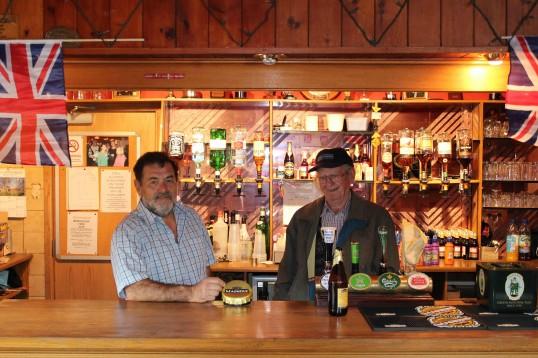 John Pinnells & Albert Keys at the Royal Wedding Fun Day 2011 in Pymoor.