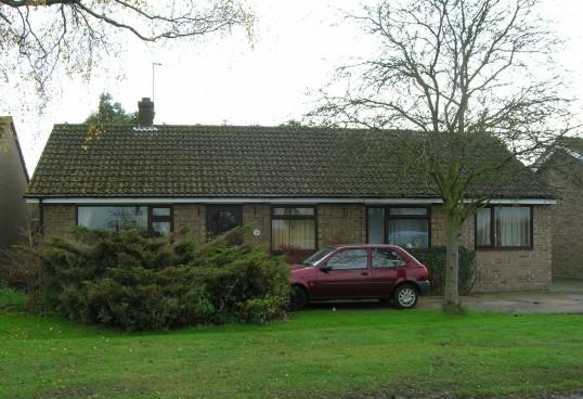 School Lane, Pymoor, 2007.