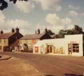 Barker's General Store and Garage, Main Street, Pymoor.