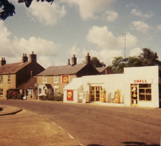 Barker's General Store and Garage, Main Street, Pymoor.
