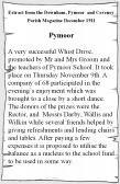 Extract from the December 1911 Downham, Pymoor & Coveney Parish Magazine about a Whist Drive held to raise funds for Pymoor School.