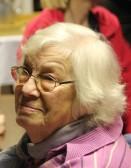Margaret Jackson at the Pymoor Cricket & Social Club Christmas Bazaar 2011.