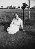 Ethel Barker of Pymoor, circa 1932.