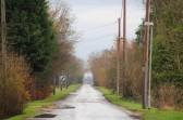 Looking East along Pymoor Lane, Pymoor, towards Laurel Farm, Main Drove, 2012.
