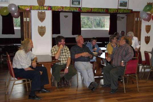 Joan & Vera Saberton's birthday party at the Pymoor Cricket & Social Club, Pymoor.