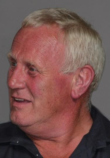 Eric Barker at Joan & Vera Saberton's birthday party at the Pymoor Cricket & Social Club, Pymoor. 2011