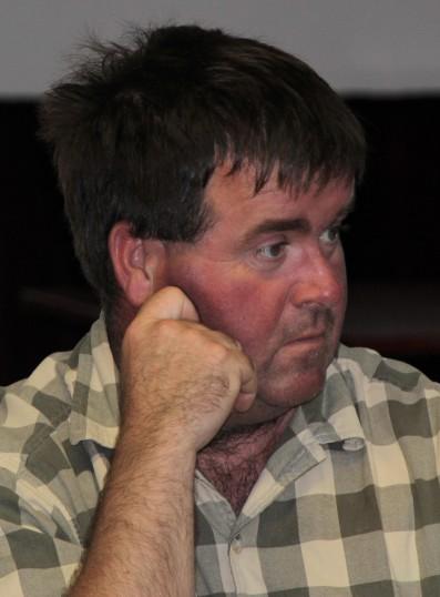 Craig Delenoy at Joan & Vera Saberton's birthday party at the Pymoor Cricket & Social Club, Pymoor. 17/07/2011