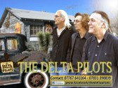 The Delta Pilots, who performed at the Pymoor Cricket & Social Club, Pymoor Lane, Pymoor.. The Delta Pilots