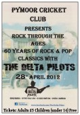 The Delta Pilots entertained Villagers & friends to 60 years of Rock & Pop Classics at the Pymoor Cricket Club in Pymoor Lane, Pymoor.