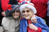 Vera & Joan Saberton at the Diamond Jubilee Fun Day in Pymoor 2012.