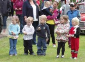 Children's Egg & Spoon Race at the Diamond Jubilee Fun Day in Pymoor 2012.