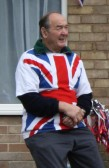 Graham Lark at the Diamond Jubilee Fun Day in Pymoor 2012.