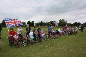 Diamond Jubilee Fun Day in Pymoor 2012.