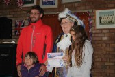 Prize Giving at the Diamond Jubilee Fun Day in Pymoor 2012.