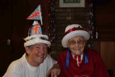 Inger Van Ogtrop & Joan Saberton at the Diamond Jubilee Fun Day in Pymoor 2012.