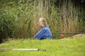 Tony Rudderham at the Roger Parson Memorial Charity Fishing Match at Oxlode Lakes, Oxlode, Pymoor 2012.
