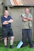 Graham Lark & Michael Tatton at the Roger Parson Memorial Charity Fishing Match at Oxlode Lakes, Oxlode, Pymoor 2012.