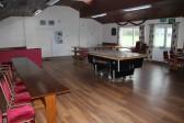 Inside the Pymoor Cricket & Social Club, Pymoor Lane, Pymoor, 2012.