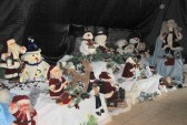 Santa's Grotto at the Pymoor Cricket & Social Club Christmas Bazaar 2012