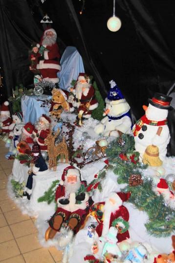 Santa's Grotto at the Pymoor Cricket & Social Club Christmas Bazaar 2012