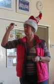 Jenny Taylor at the Pymoor Cricket & Social Club Christmas Bazaar 2012