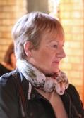 Pam Golding at the Pymoor Cricket & Social Club Christmas Bazaar 2012