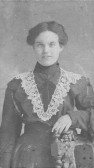 Ethel May Martin nee Dilley, born in Isleham in 1886. Married Charles Martin in 1907 and then lived in Pymoor.