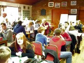 Over 100 people attended the Charity Quiz hosted by Gary Palmer & the Dabbers Trials Club at the Pymoor Cricket Club in Pymoor 2012.