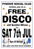 Pymoor Cricket & Social Club hosted a free Disco after the cancelled Pymoor Show 2012. Over 70 villagers & friends came.