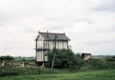 Signal Box at Black Bank, Little Downham, Pymoor.