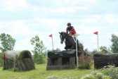 A cross country event at the Ely Eventing Centre, Little Downham, Pymoor, 2012.