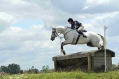 A cross country event at the Ely Eventing Centre, Little Downham, Pymoor 2012.