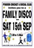 Villagers & friends enjoyed a Family Disco at the Pymoor Cricket & Social Club. Rick Stacy of Pymoor was the 'Disc Jockey', 2012.