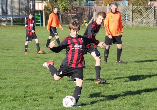 A charity football match in Pymoor 2012.