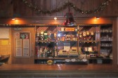 The bar in the Pymoor Cricket and Social Club, Pymoor Lane, Pymoor 2012