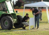 Preparing for the Pymoor Agriculural & Country Show 2012.