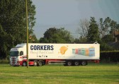 This Corkers Crisp lorry, based in Pymoor, was the first to arrive for the Pymoor Agriculural & Country Show. 2012