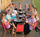 The Ladies of Pymoor & their friends celebrate the 2nd Anniversary of Ladies Nights held at the Pymoor Cricket & Social Club with Pimms & Strawbrrries & Cream & Shortbread 2013.